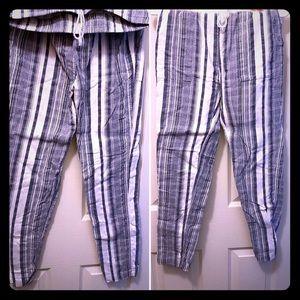 Skin leg Linen pants- TB